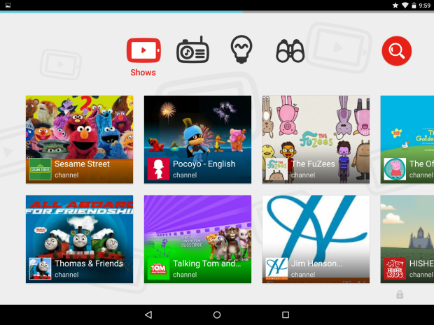 YouTube Kid App