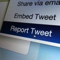Twitter allowed abusive message on its platform